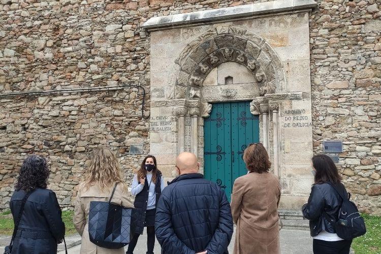 Aida en el Archivo del Reino de Galicia